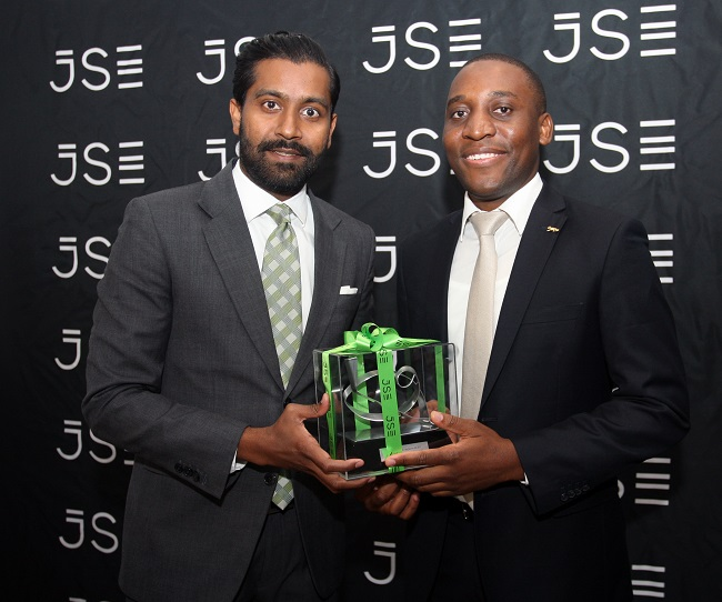 Prejelin Naggan, Head of Primary Markets, Johannesburg Stock Exchange and Maurice Madiba, CEO and Founding Director of Cloud Atlas Investing.