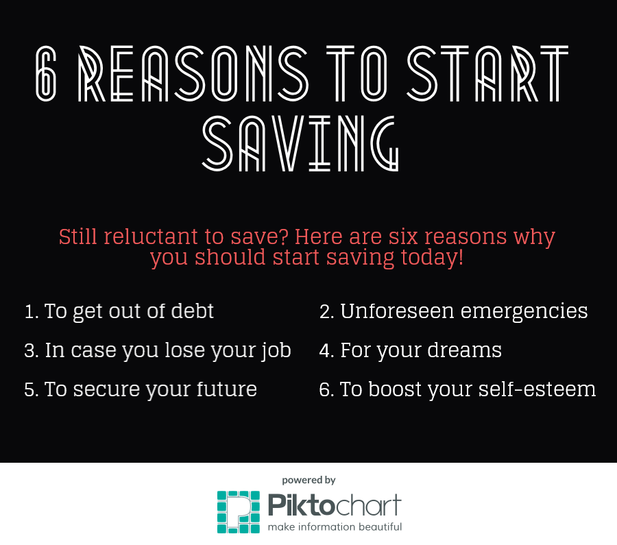 6 Reasons to save